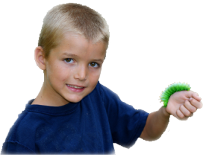 boy with catepillar_Animal Detectives