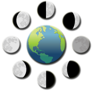 moon in motion