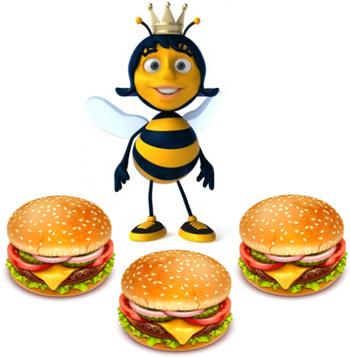 queen hamburger