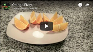Orange Fizz - February 2018 Experiment of the Month at SFFE