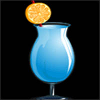 Black Light Blue Beverage - October 2015