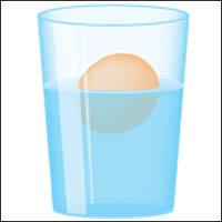 Floating Egg - April 2014