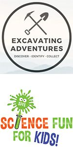 Excavating Adventures and Science Fun For Kids